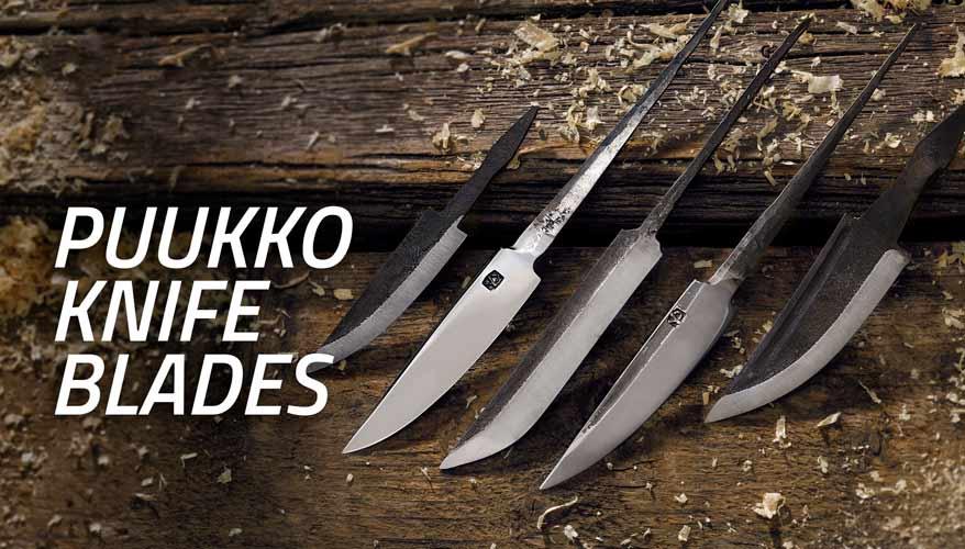 Puukko Knife blades