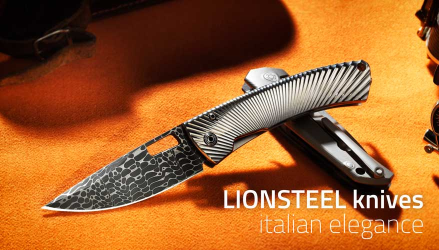 LIONSTEEL knives