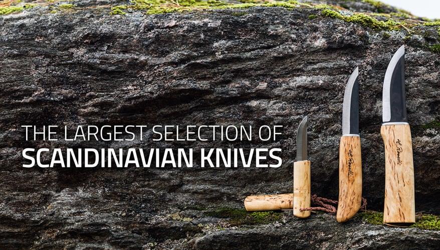 Scandinavian knives and puukko knives at Lamnia