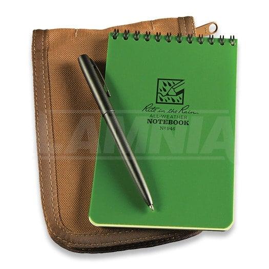 Rite in the Rain 4 x 6 Kit Green Book/Tan Cover