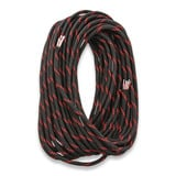 Live Fire Gear - 550 FireCord 7,5m Black/Red Line