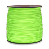 Paracord - Micro, Neon Green 305m