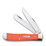 Case Cutlery - Trapper Orange Synthetic