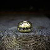 Audacious Concept - Smiley Bead, Brass