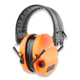 Silenta - MILCOM Natural elekr. kuulosuojain, oranssi