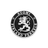 Audacious Concept - Suomi Finland Perkele Lion, noir
