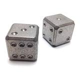 Flytanium - Titanium Dice Set Stonewash
