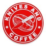 Audacious Concept - Knives and Coffee, czerwona