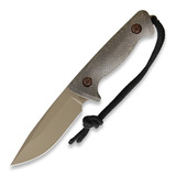 Treeman Knives - Recon Hunter Coyote Leather
