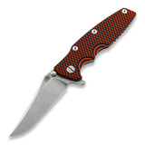 Hinderer Knives - Eklipse Gen2 bowie, black/orange