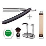 "Böker - Classic Anthrazit 5/8"" Spanish Head with Care Set"