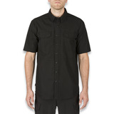 5.11 Tactical - Stryke Short Sleeve Shirt, musta