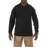 5.11 Tactical - Utility Polo Long Sleeve, 검정