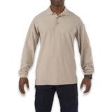 5.11 Tactical - Utility Polo Long Sleeve, silver tan