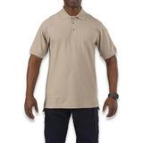 5.11 Tactical - Utility Polo Short Sleeve, silver tan