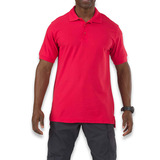 5.11 Tactical - Utility Polo Short Sleeve, range red