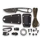 ESEE - Izula Black Engraved With Ant