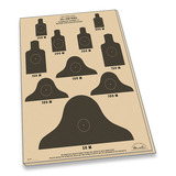 Rite in the Rain - 25m Target Sheets M16A1 10