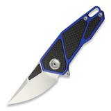 Stedemon - A01A Framelock Blue CF
