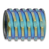 We Knife - Titanium Bead Blue