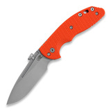 Hinderer - XM-18 Slippy Slicer, stonewash, oranžs