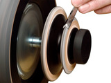 Tormek - LA-120 Profiled Leather Honing Wheel