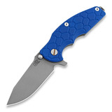 Hinderer - Jurassic Spearpoint, working finish, Blue Scale