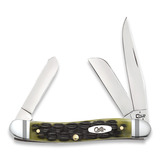 Case Cutlery - Med Stockman Crandall Olive