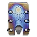 EOS - Titanium 2.5 Wallet Flame