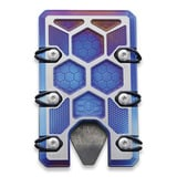 EOS - Titanium 2.5 Wallet Flame & Sa