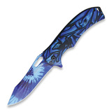 Rough Rider - Tie Dye Linerlock A/O Blue