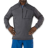 5.11 Tactical - Recon Half Zip, musta