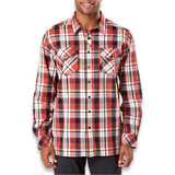 5.11 Tactical - Peak Long Sleeve Shirt, oxide red