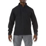 5.11 Tactical - Sierra Softshell, musta