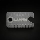Audacious Concept - Titanium Dog Tag Angle Finder Lamnia Edition, must