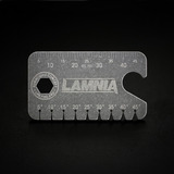 Audacious Concept - Titanium Dog Tag Angle Finder Lamnia Edition, 검정