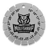 Wolfsharp Abrasives - Radial Knife Edge Angle Gauge