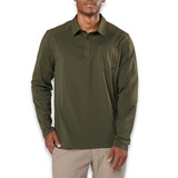 5.11 Tactical - Artillery Long Sleeve Polo, moss