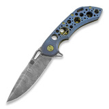 Olamic Cutlery - Wayfarer 247 Damasteel Drop Point