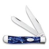 Case Cutlery - Trapper Sparxx Blue Kirinite