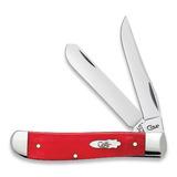 Case Cutlery - Mini Trapper Dark Red Bone