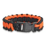 Knotty Boys - Bracelet Blk/Org Reflective Md