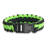 Knotty Boys - Bracelet Blk/Grn Reflective Md