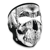 Zan Headgear - Full Face Mask BW Skull