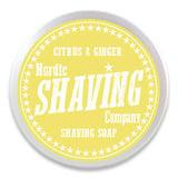 Nordic Shaving Company - Parranajosaippua sitrus&inkivääri 80g
