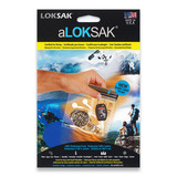 "Loksak - Double Zipper Bags, Set of Two 5"" x 4"""