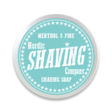 Nordic Shaving Company - Shaving Soap Menthol & Pine 80g