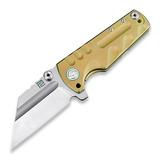 Artisan Cutlery - Proponent Framelock CPM S35VN, gold