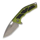 Heretic Knives - Medusa Tanto, green/battleworn