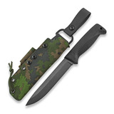 J-P Peltonen - Нож Sissipuukko M95, camo kydex sheath